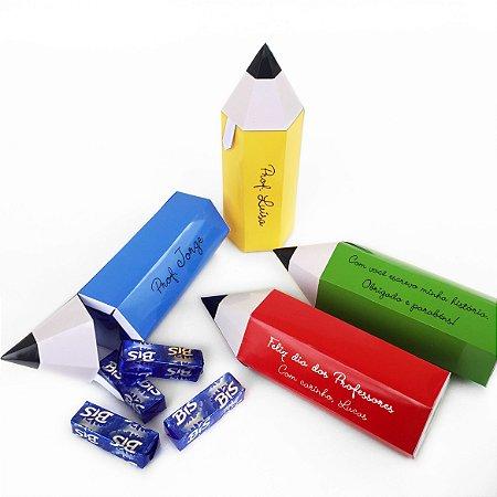 Caixa-Lápis com Bis