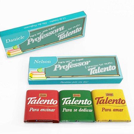 Caixa Talento personalizada
