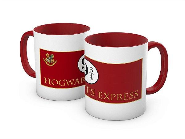 Caneca Expresso Hogwarts