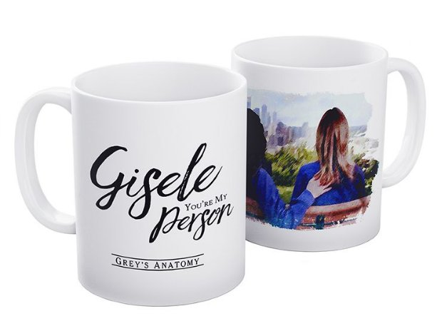 "Caneca ""You're My Person"" com nome"