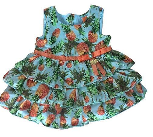 Vestido Tapa Abacaxi