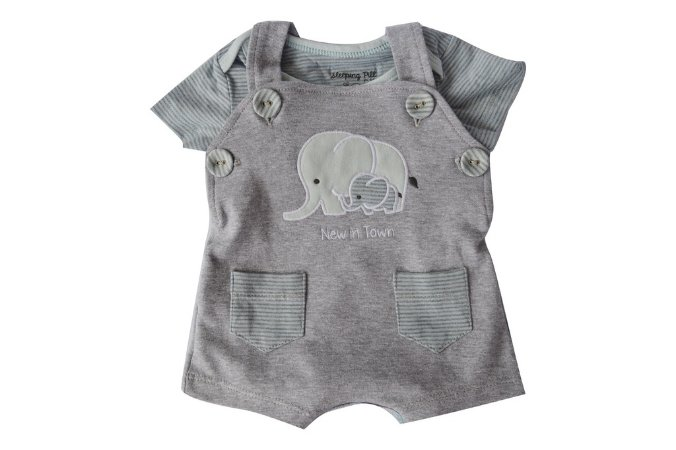 Jardineira Elefantinho