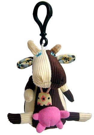 Chaveiro Mini Deglingos Milkos a Vaca