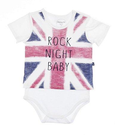 Body Camiseta Born To Rock