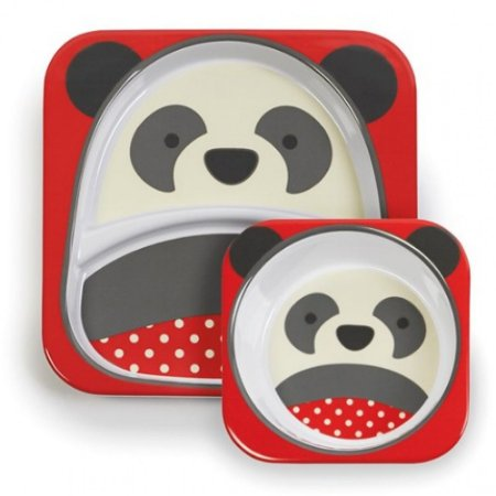 Set de Pratos Zoo Panda - Skip Hop