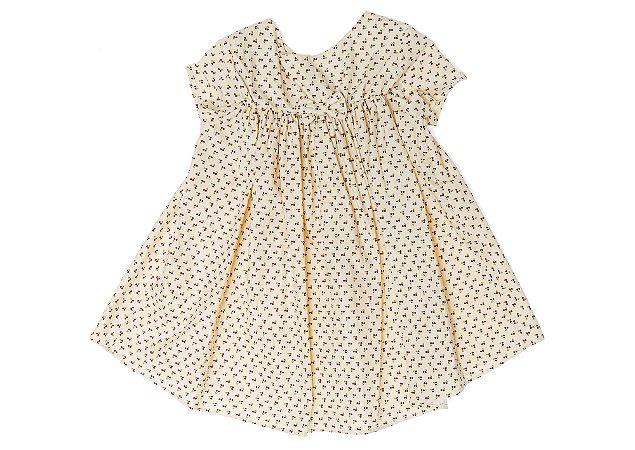 Vestido Rodado Cerejas Mini