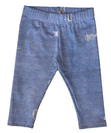 Legging Jeans Rasgado