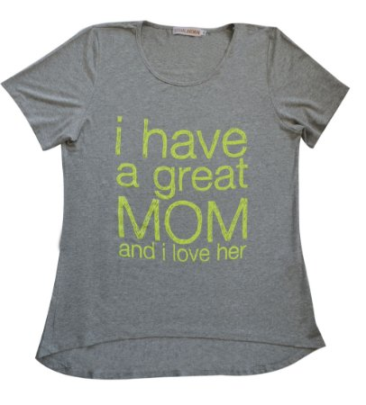 Camiseta Adulto Cinza Great Mom