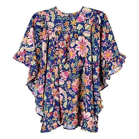 Vestido Doce de Leite Floral