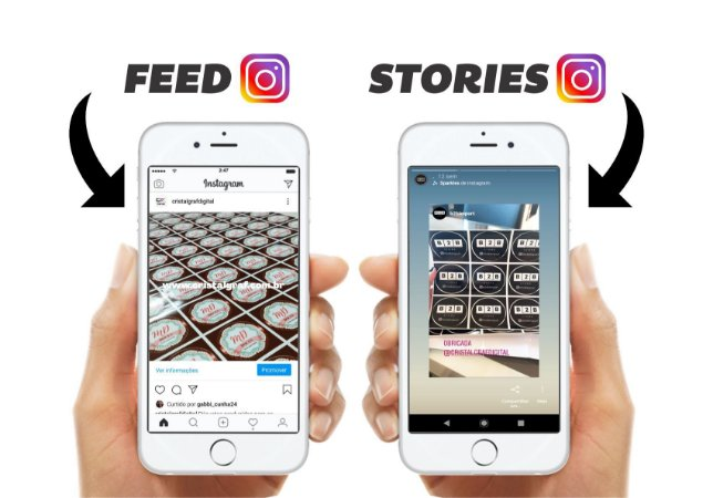3 ARTES P/ FEED E STORIES