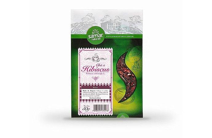 Chá de Hibiscus 50 G - Samar Naturais