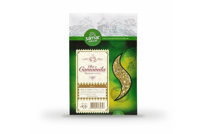 Chá de Camomila 50 G - Samar Naturais