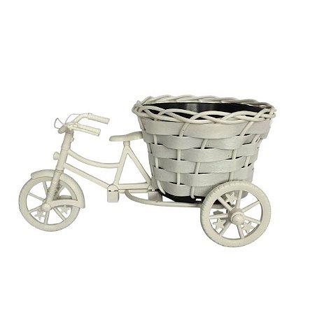 Vaso Bicicleta com Cestinha de flor