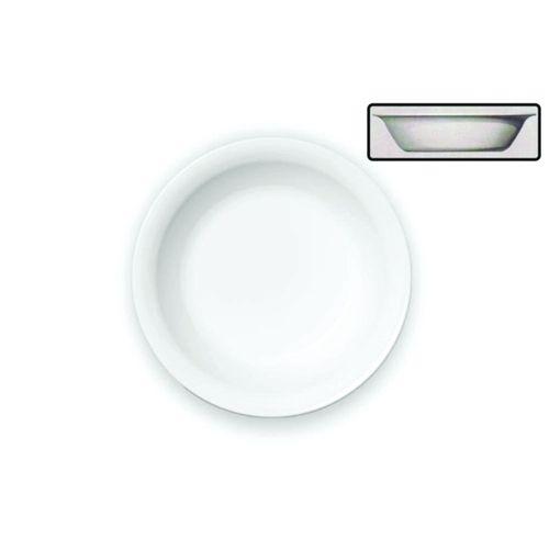 Prato Fundo Cerâmica Branco