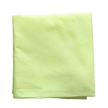 Guardanapo Tricoline - Amarelo Canário Liso - Quadrado - 0,40 x 0,40 cm