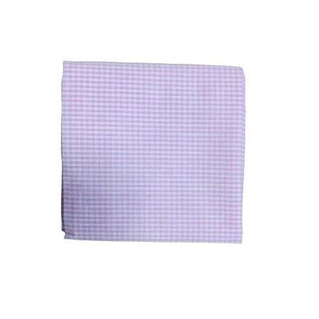 Guardanapo Tricoline - Xadrez Pequeno Rosa c/ Branco - 0,40 x 0,40 cm