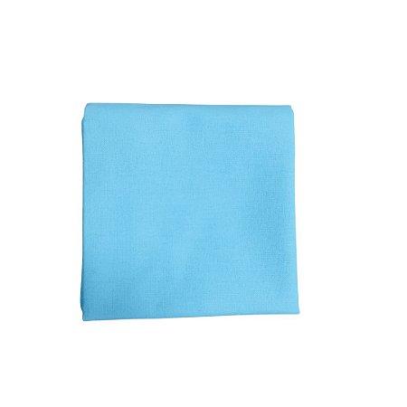 Guardanapo Tricoline - Azul Tiffany - Quadrado - 0,40 x 0,40 cm