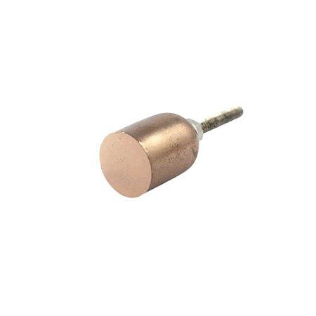 Puxador Metal Cilindro Rose Gold Polido TA 131 058615