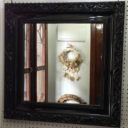 Espelho Moldura Preto