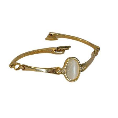 Pulseira Bracelete Dourada
