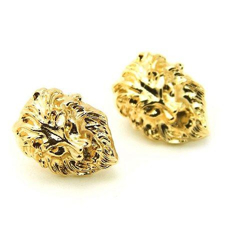 Collar Tips Leão Dourado