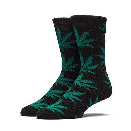 Par de Meias Estampada Marijuana