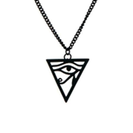 Colar Triângulo Olho de Hórus