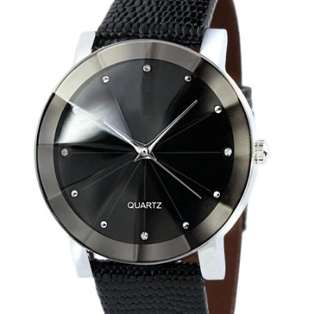 Relógio Elegante Pulseira Aço Inoxidável
