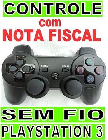 Manete controle joystick ps3 Sem Fio Bluetooth para playstation 3