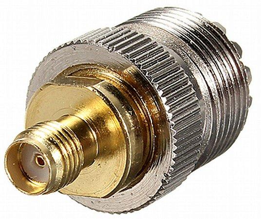 adaptador conector sma fêmea x so239 femea para baofeng uv5r 777s 888s uv8 uv82 uv6r rd5r dm5r plus
