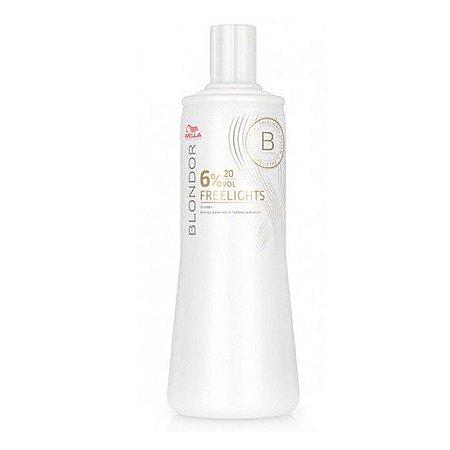 Wella Professionals Blondor Freelights Oxidante 6% 20 volumes - 1000ml