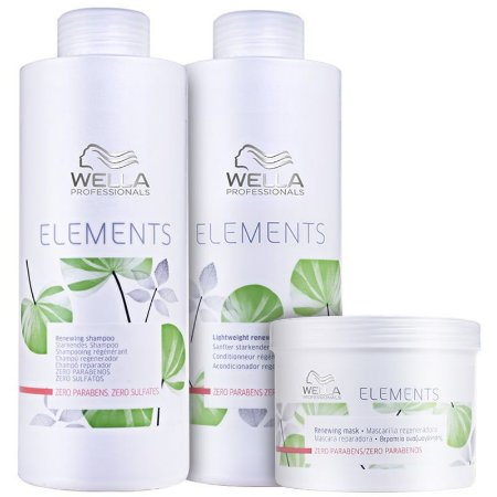 Kit Elements Renewing Trio Salon (3 Produtos) - Wella Professionals