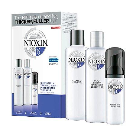 Nioxin System 6 Kit de Tratamento - Pequeno (3 Produtos)