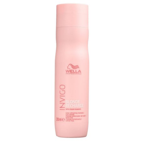Invigo Blonde Recharge Cool Blonde Shampoo 250ml - Wella Professionals