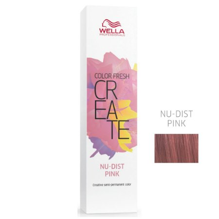 Coloração Color Fresh Create Nu-Dist Pink - Semipermanente 60G - Wella Professionals