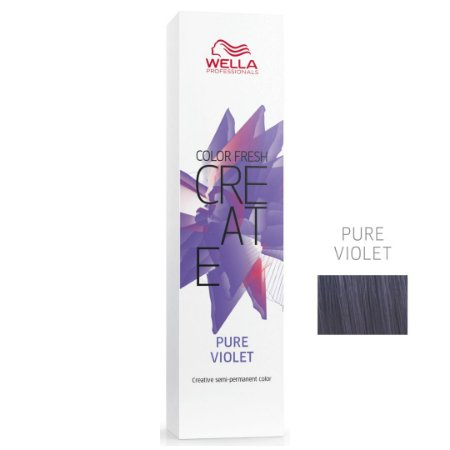 Coloração Color Fresh Create Pure Violet - Semipermanente 60G - Wella Professionals