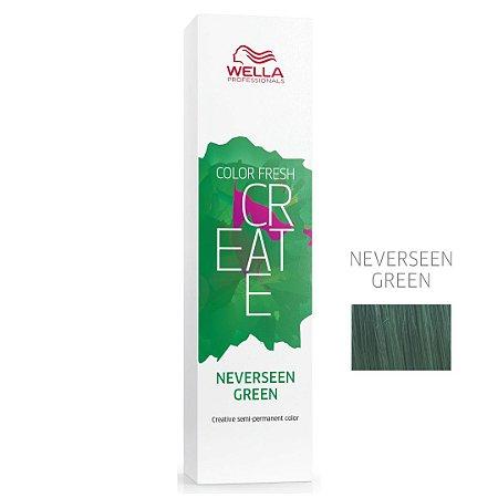 Coloração Color Fresh Create Neverseen Green - Semipermanente 60G - Wella Professionals