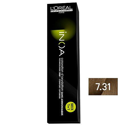 Coloração Inoa 7.31 Louro Dourado Acinzentado 60g - L'Oréal Professionnel