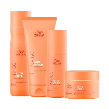 Invigo Nutri-Enrich Wonder Balm (4 Produtos) - Kit Wella Professionals