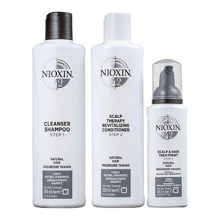 Nioxin System 2 Kit de Tratamento - Grande (3 Produtos)