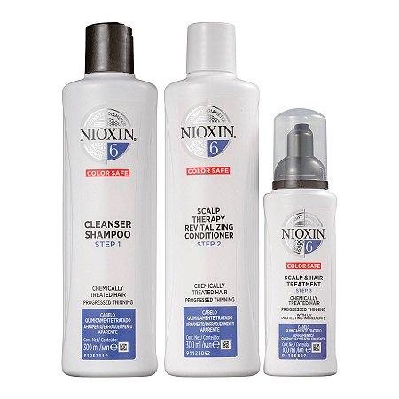 Nioxin System 6 Kit de Tratamento - Grande (3 Produtos)