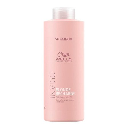 Invigo Blonde Recharge Cool Blonde Shampoo 1000ml - Wella Professionals