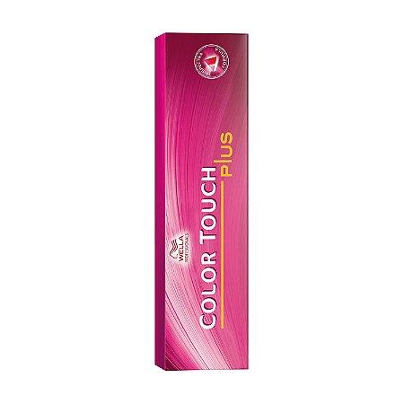 Tonalizante Color Touch Plus 66/07 Louro Escuro Intenso Natural Marrom 60g - Wella Professionals