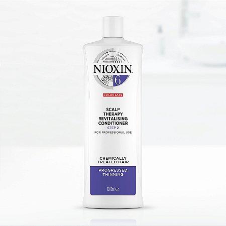 Condicionador Nioxin 6 Hair System Scalp Revitalizing 1000ml