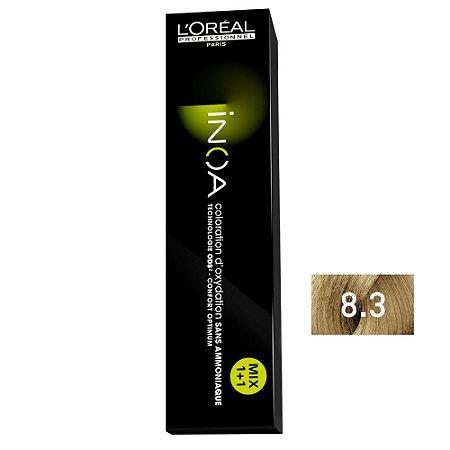 Coloração Inoa 8.3 Louro Claro Dourado 60g - L'Oréal Professionnel