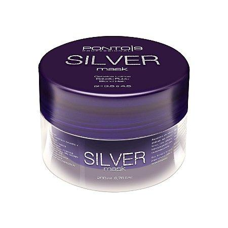 Silver Máscara 200ml - Ponto 9 Professional