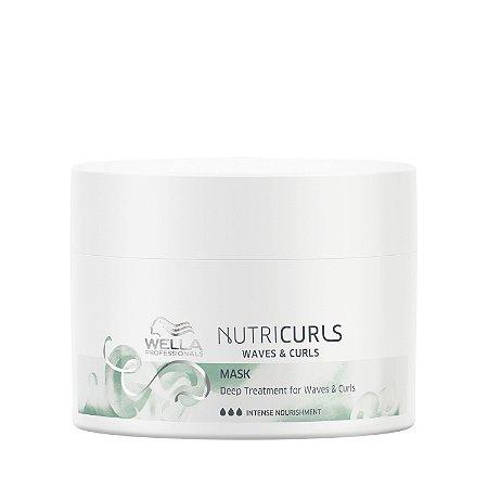 Nutricurls Máscara de Nutrição Intensa 150ml - Wella Professionals