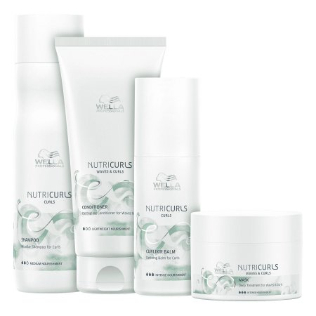 Kit Nutricurls Daily (4 Produtos) - Wella Professionals