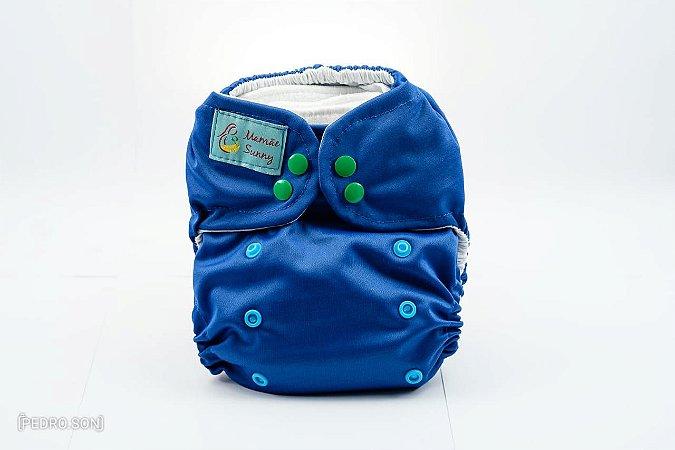 Fralda Reutilizável - Azul Marinho