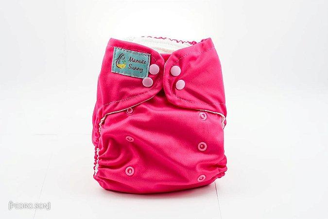 Fralda Reutilizável - Pink
